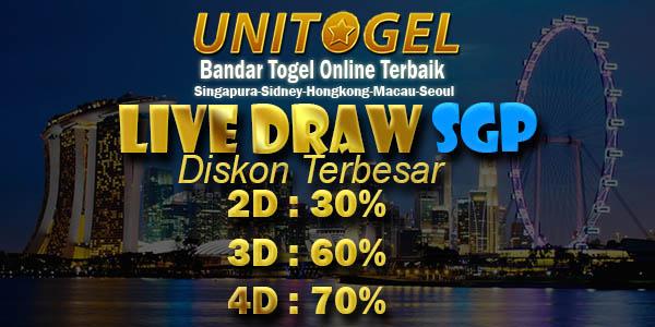 Live Draw SGP : Result Toto SGP Secara Langsung Tercepat !!
